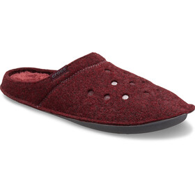 Crocs Classic Zapatillas de estar por casa, burgundy/burgundy